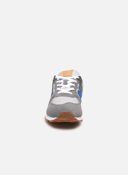Sneaker New Balance GC574 grau schuhe getragen