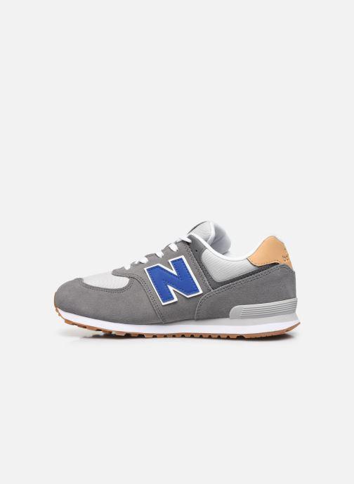 Sneaker New Balance GC574 grau ansicht von vorne