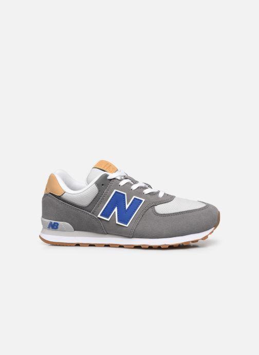 Sneaker New Balance GC574 grau ansicht von hinten