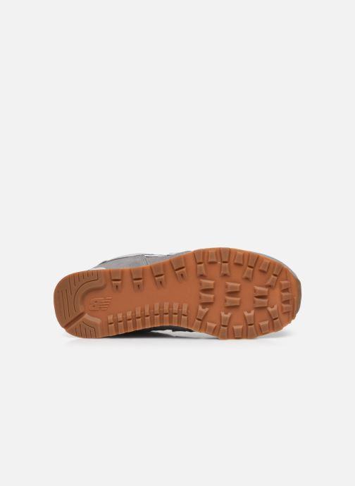 Sneaker New Balance GC574 grau ansicht von oben