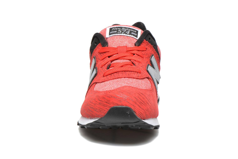 Sneakers New Balance KL574 J Röd bild av skorna på