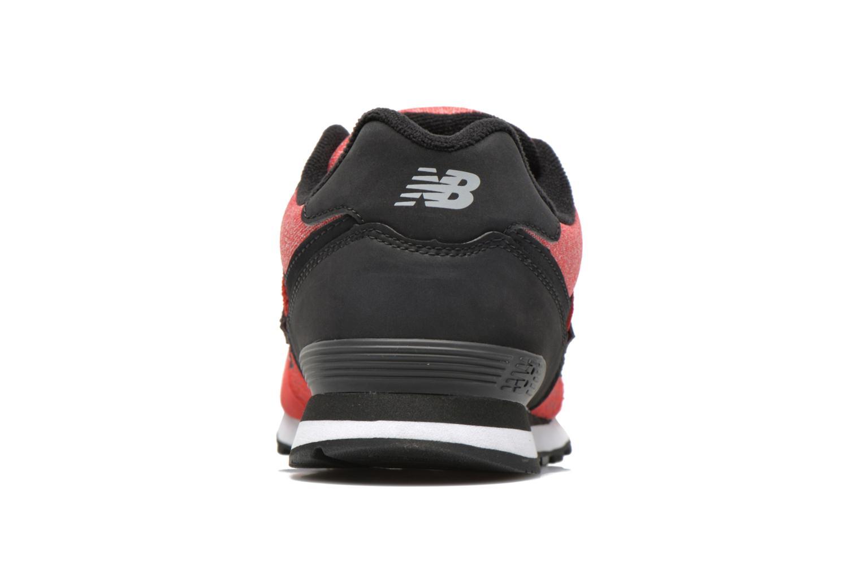 Sneakers New Balance KL574 J Röd Bild från höger sidan