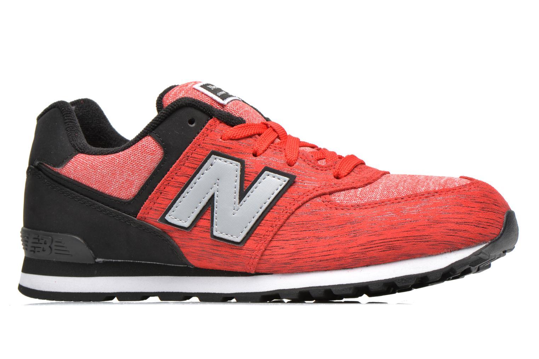 Sneakers New Balance KL574 J Röd bild från baksidan