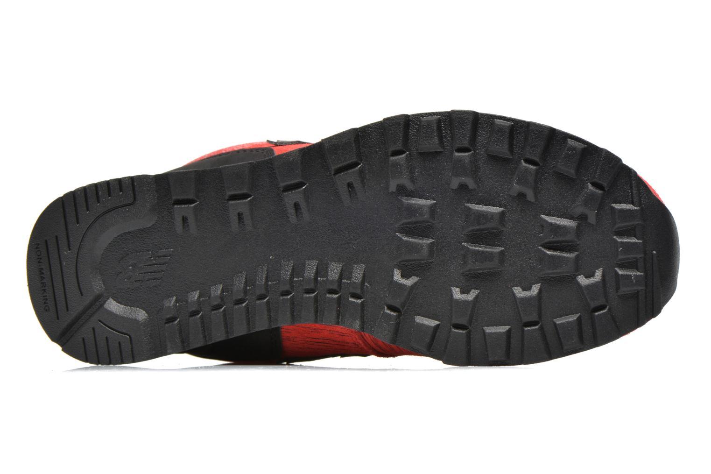 Sneakers New Balance KL574 J Röd bild från ovan