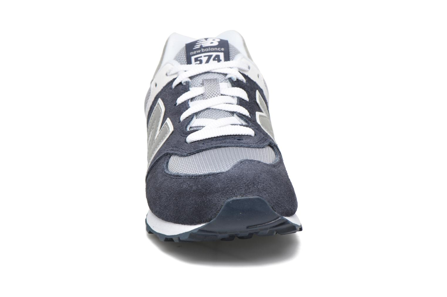 Trainers New Balance KL574 J Blue model view