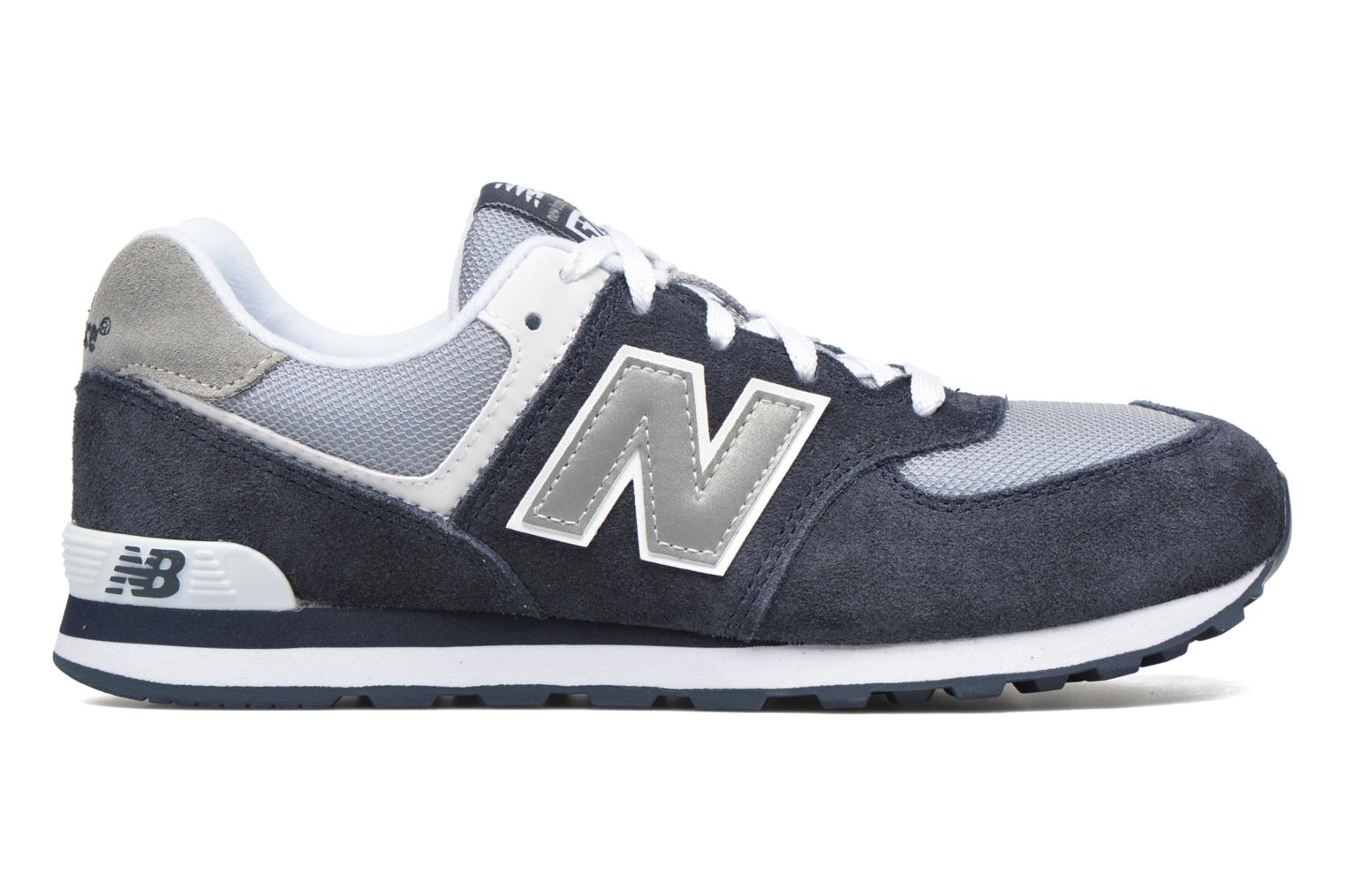 Trainers New Balance KL574 J Blue back view