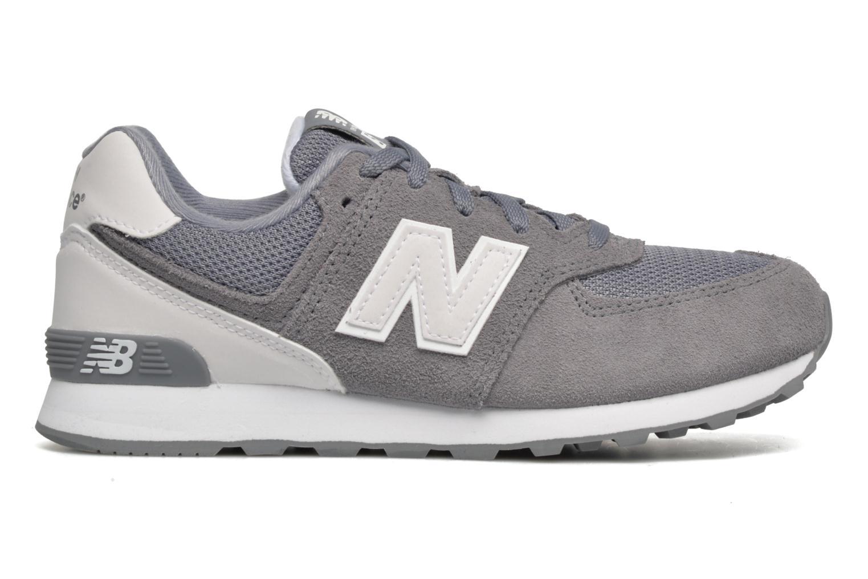 Sneaker New Balance KL574 J grau ansicht von hinten