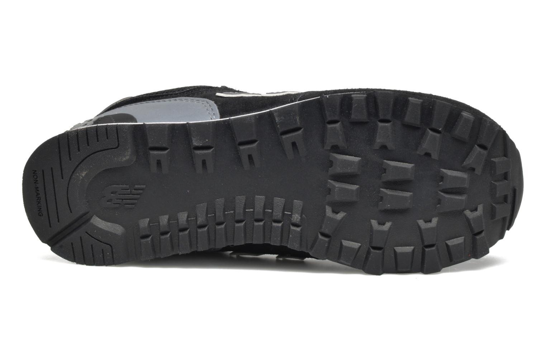 Sneakers New Balance KL574 J Nero immagine dall'alto