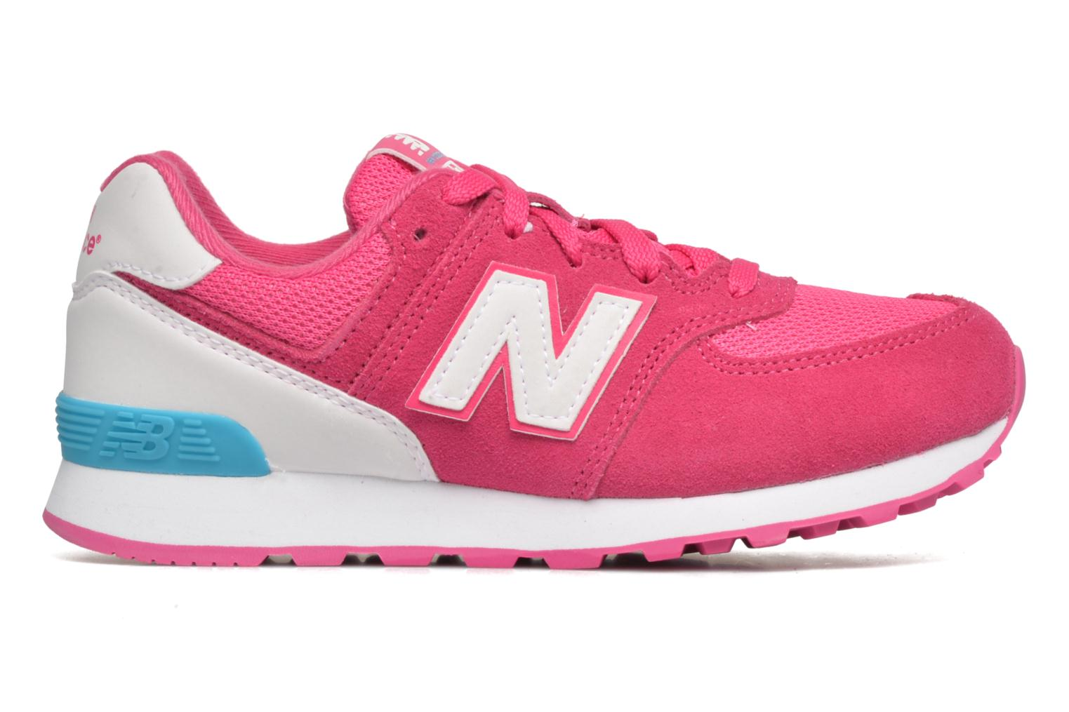 Trainers New Balance KL574 J Pink back view