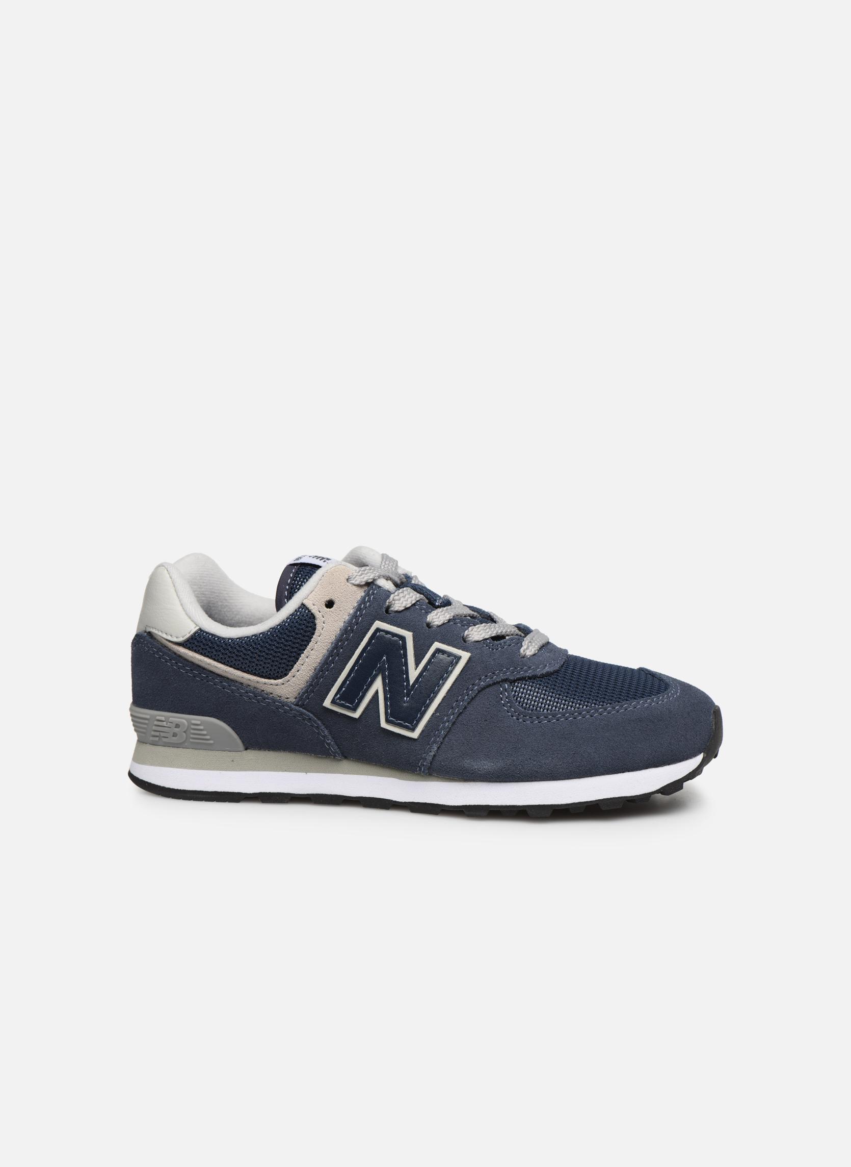 Sneakers New Balance KL574 J Blauw achterkant