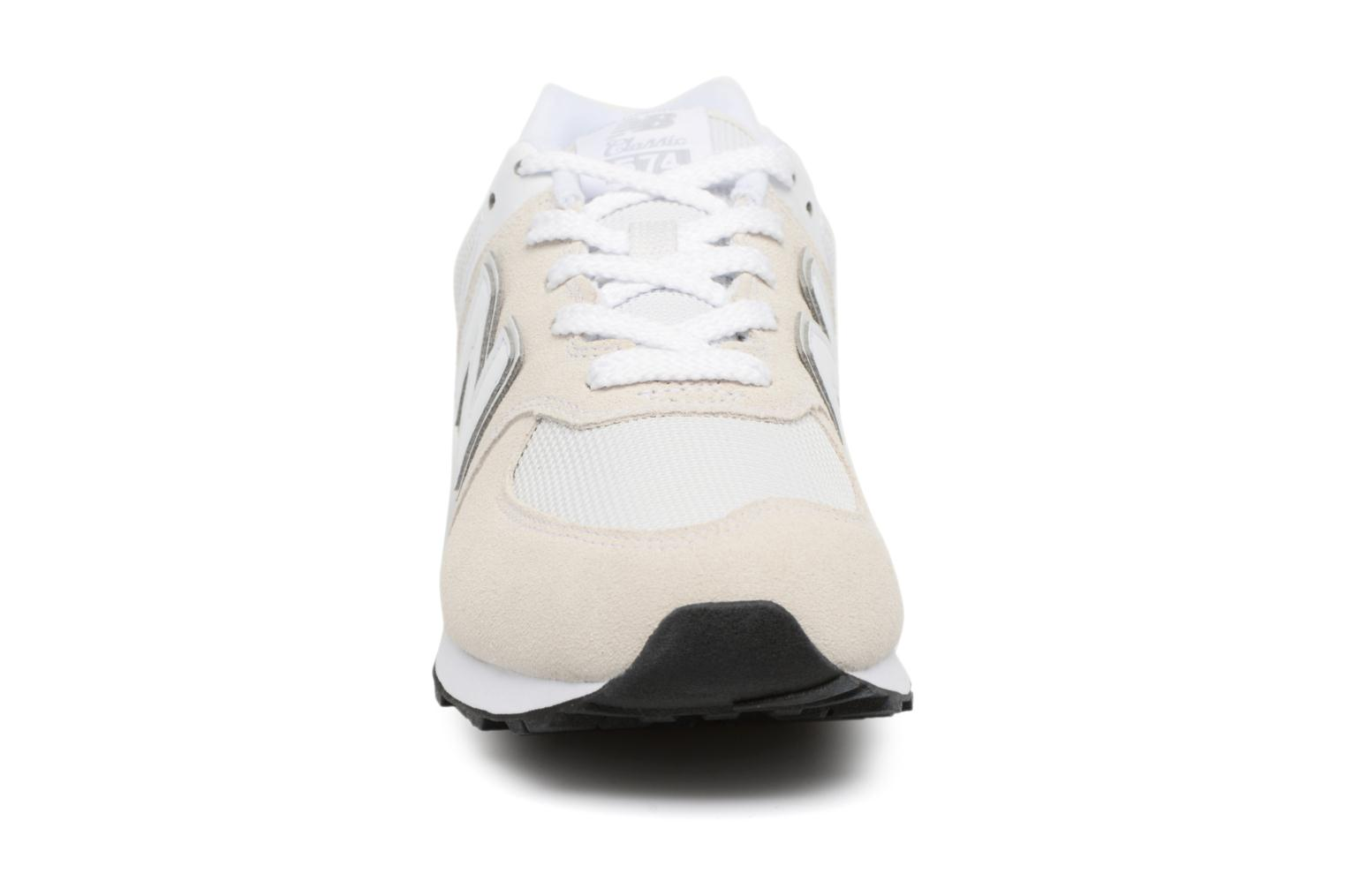 Trainers New Balance KL574 J White model view