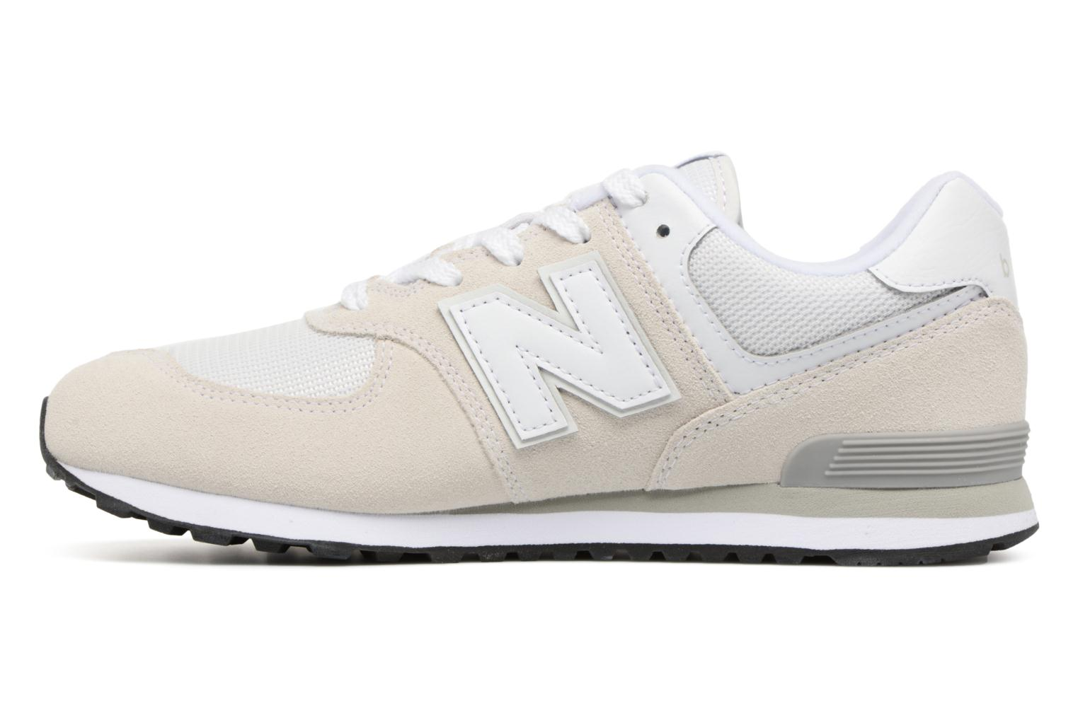 Trainers New Balance KL574 J White front view