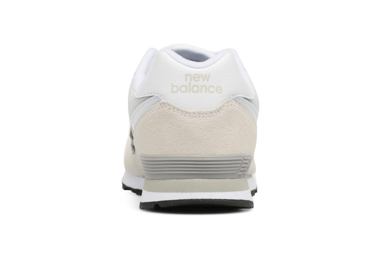Trainers New Balance KL574 J White view from the right