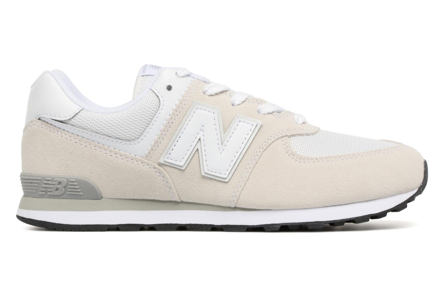 Trainers New Balance KL574 J White back view