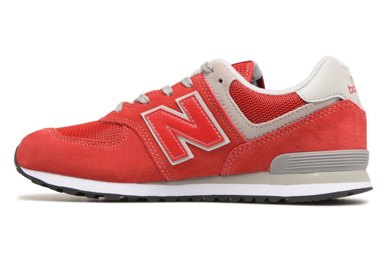 Sneakers New Balance KL574 J Rood voorkant