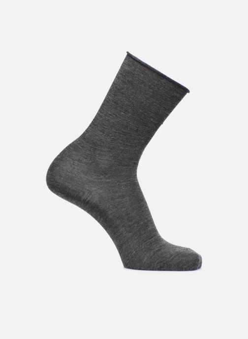 Sokken en panty's BLEUFORÊT Chaussettes laine fine Grijs detail