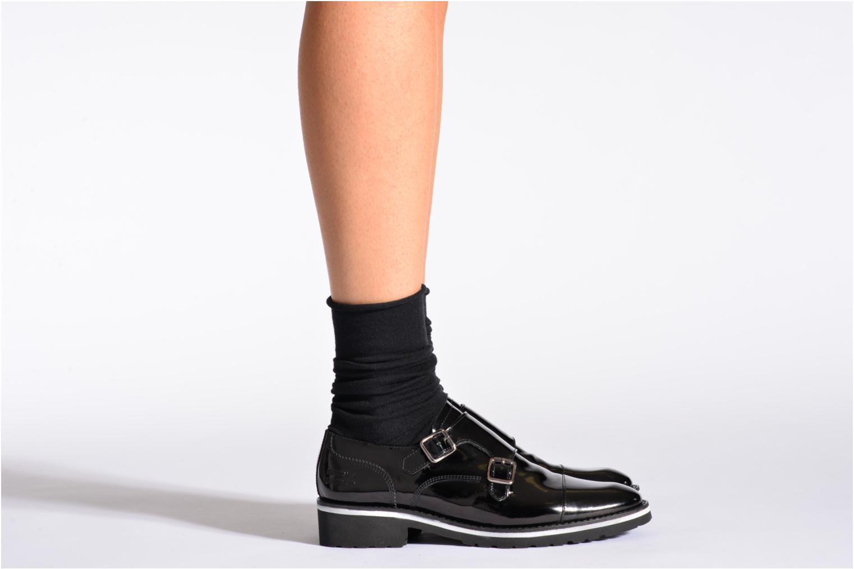 Socks & tights BLEUFORÊT Chaussettes laine fine Black model view