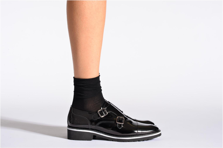 Socken & Strumpfhosen BLEUFORÊT Chaussettes fleur de peau schwarz schuhe getragen