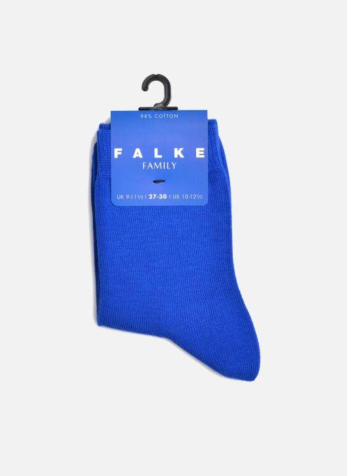 Chaussettes et collants Falke Chaussettes FAMILY Bleu vue derrière