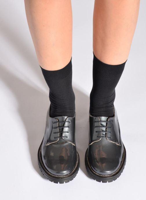 Socken & Strumpfhosen Falke Socken TOUCH schwarz schuhe getragen