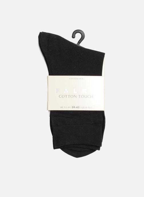 Socks & tights Falke Socks TOUCH Black view from the right