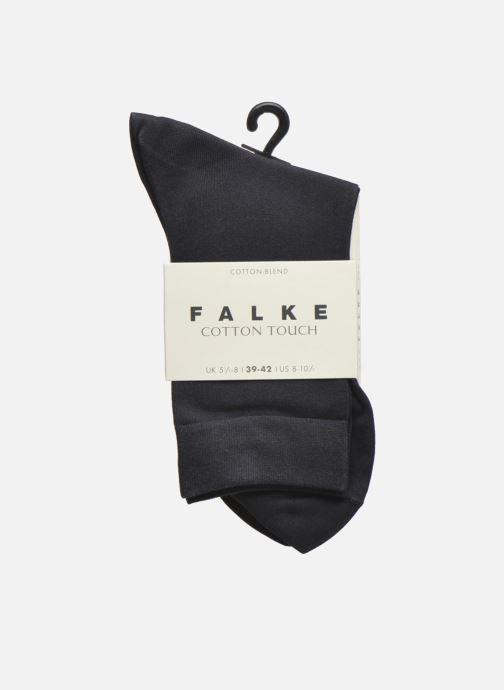 Socken & Strumpfhosen Falke Socken TOUCH blau ansicht von hinten