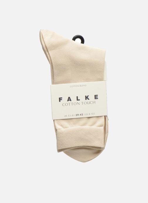 Chaussettes et collants Falke Chaussettes TOUCH Beige vue derrière