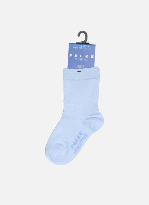 Chaussettes et collants Falke Chaussettes SENSITIVE Bleu vue portées chaussures