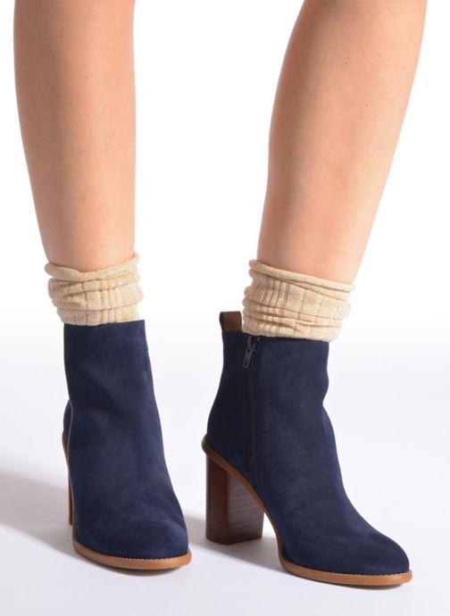 Socken & Strumpfhosen Falke Socken LUREX gold/bronze schuhe getragen