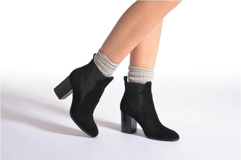 Chaussettes et collants Falke Chaussettes LUREX Gris vue portées chaussures