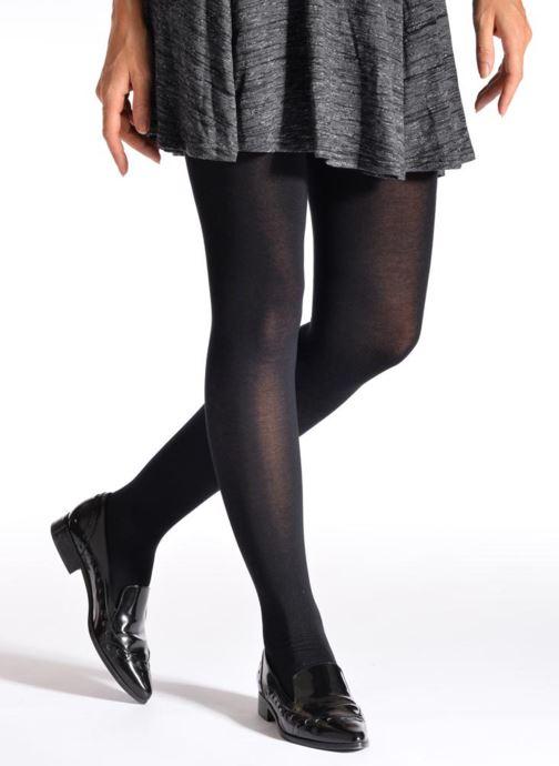 Chaussettes et collants Falke Collant FAMILY Noir vue portées chaussures