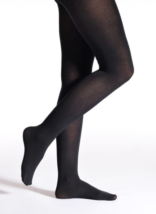 Sokken en panty's Falke Panty FAMILY Zwart detail