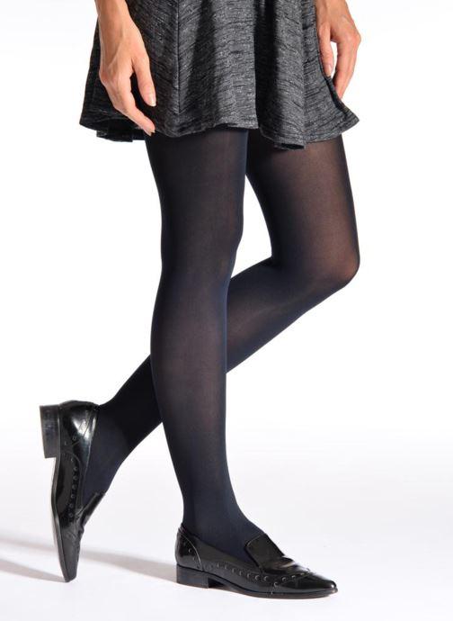 Socken & Strumpfhosen Falke Strumpfhose PURE MATT blau schuhe getragen