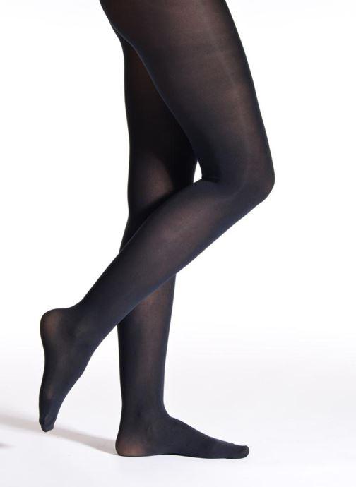 Sokken en panty's Falke Panty PURE MATT Blauw detail