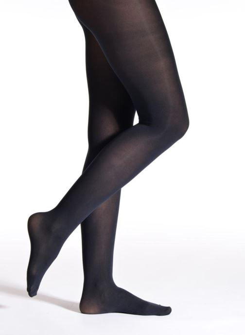 Chaussettes et collants Falke Collant PURE MATT Bleu vue détail/paire