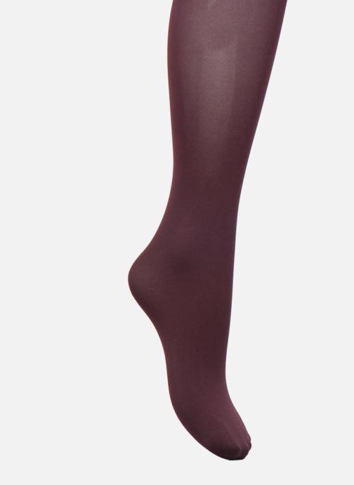 Chaussettes et collants Falke Collant PURE MATT Bordeaux vue détail/paire