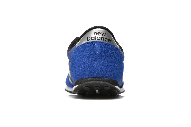 Baskets New Balance KL410 J Bleu vue droite