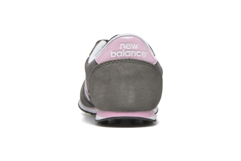 Sneaker New Balance KL410 J grau ansicht von rechts