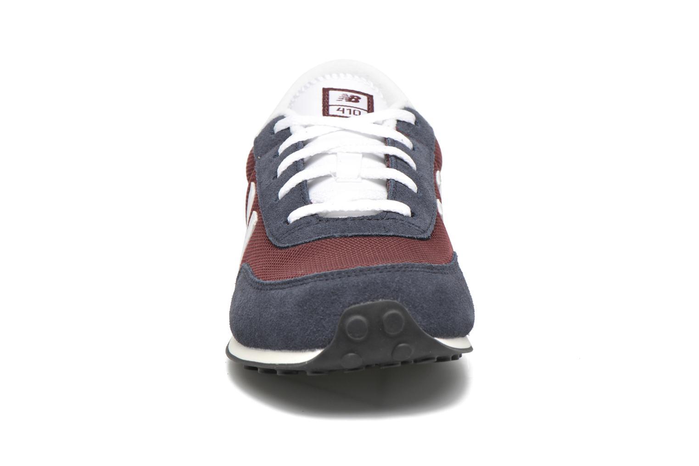 Baskets New Balance KL410 J Bleu vue portées chaussures