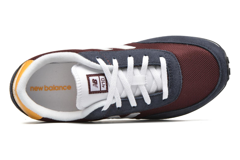 Sneaker New Balance KL410 J blau ansicht von links