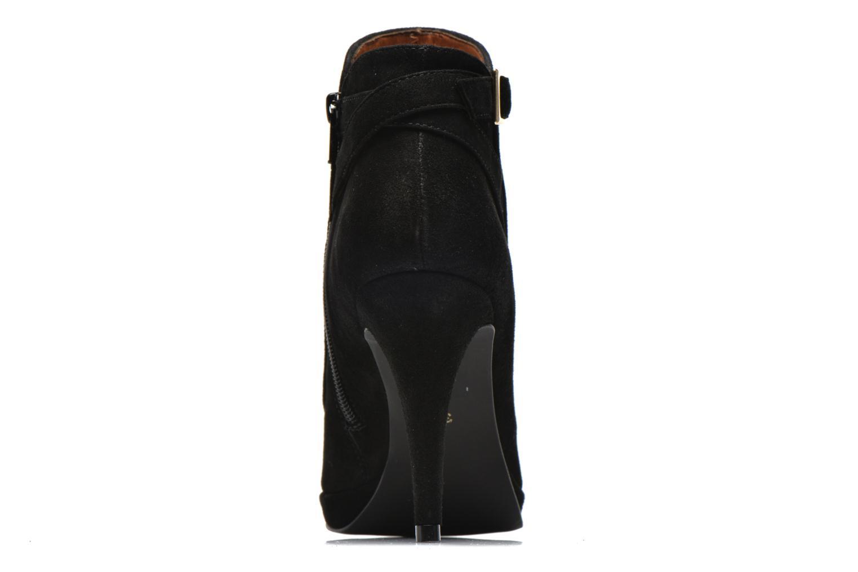 Bottines et boots Georgia Rose Bombance Noir vue droite