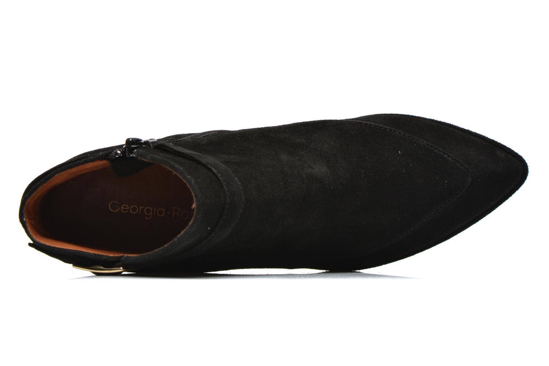 Bottines et boots Georgia Rose Bombance Noir vue gauche