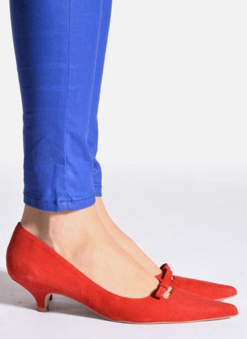 Zapatos de tacón Georgia Rose Ribote Azul vista de abajo