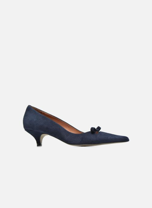 High heels Georgia Rose Ribote Blue back view