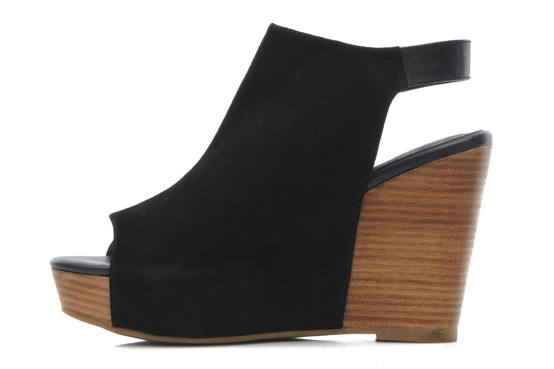 Sandales et nu-pieds Shoe the bear Cindy Noir vue face