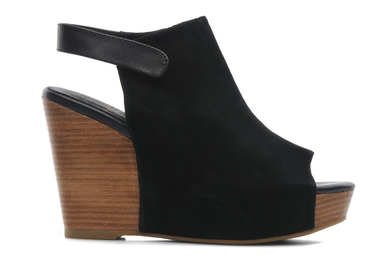 Sandales et nu-pieds Shoe the bear Cindy Noir vue derrière