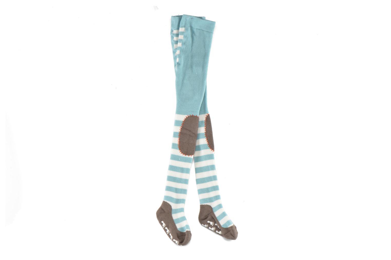 Chaussettes et collants Falke Collant CRAWLER 2 Bleu vue derrière