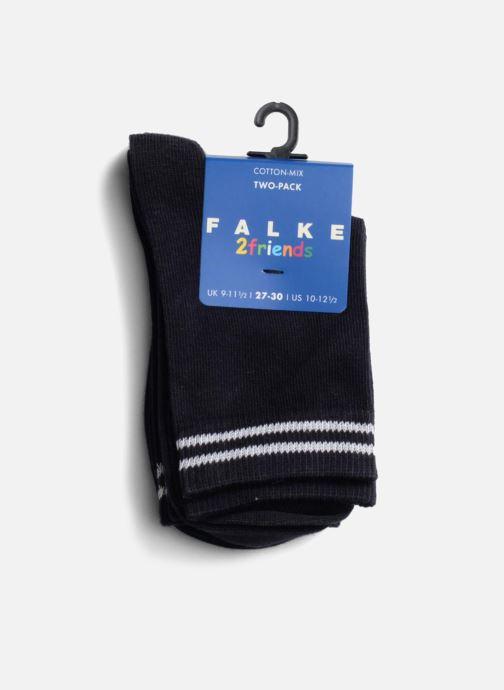 Chaussettes et collants Falke Chaussettes FRIENDS Pack de 2 Bleu vue face