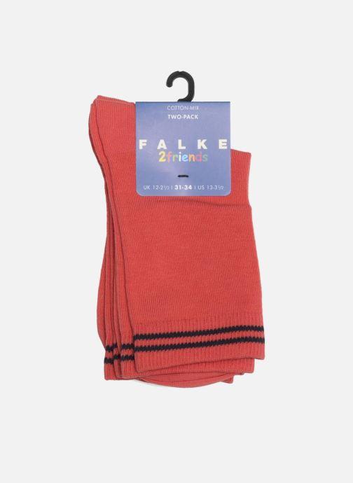 Socken & Strumpfhosen Falke Socken FRIENDS 2er-Pack rosa ansicht von rechts