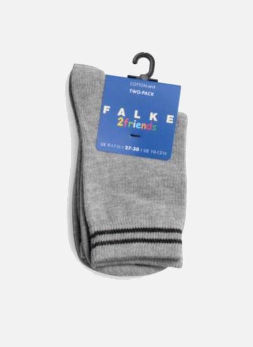 Chaussettes et collants Falke Chaussettes FRIENDS Pack de 2 Gris vue face